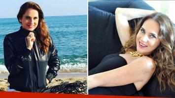 La relajada vida de Florencia Ortiz a orillas del Mar Mediterráneo:
