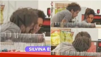 Las imágenes de Silvina Escudero... ¿con su novio? en un shopping en Miami (Fotos: Captura)