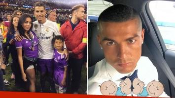 Cristiano Ronaldo, sería papá de gemelos por vientre de alquiler junto a Georgina Rodríguez. (Foto: Instagram)