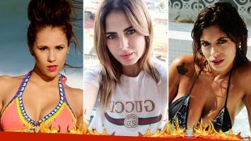 Silvina Luna les marcó la cancha a Barby Silenzi y a Valeria Aquino. (Foto: Instagram)