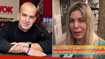 """El dolor de la exmujer de Federico Blanco, el ganador de El Bar TV, tras su asesinato: """"Él estaba enfermo, no era una mala persona"""""""