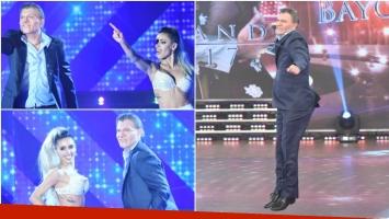 Así fue el debut de Fredy Villarreal como Mauricio Macri en Bailando 2017 (Fotos: Prensa Ideas del Sur)