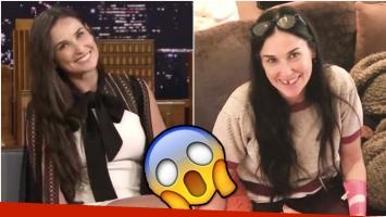 Demi Moore contó el extraño motivo por el que perdió dos dientes (Fotos: Captura)