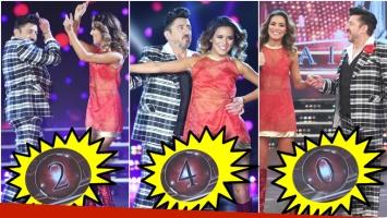 El debut de Huevo Müller y su novia Roxana Cravero en Bailando 2017 no alcanzó las expectativas del jurado (Fotos: Prensa Ideas del Sur)