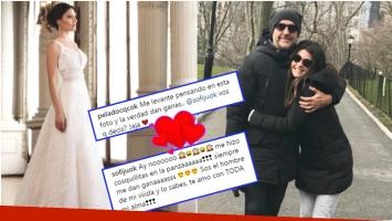El Pelado López le propuso casamiento por Instagram a Jujuy y ella aceptó (Fotos: Instagram)