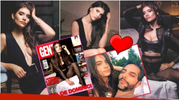 La producción súper sexy de Eva de Dominici y su relación con Joaquín Furriel (Fotos: revista Gente e Instagram)