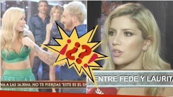 Laurita Fernández... ¿más cerca de reconciliarse con Fede Bal? (Fotos: Captura)