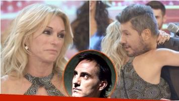 Mirá que pasó cuando Marcelo Tinelli le tuvo que dar el voto secreto a Yanina Latorre en Bailando 2017 (Fotos: Captura y Web)