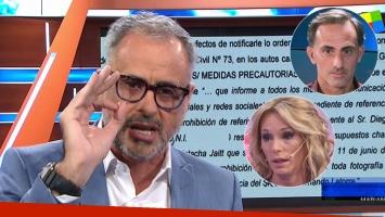 Jorge Rial, tras la medida cautelar de Diego y Yanina Latorre