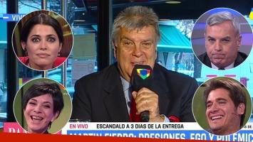 Luis Ventura reveló todo lo que le ofrecieron para comprar su voto en los Martín Fierro.