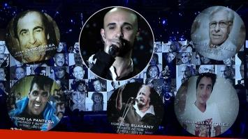 In memoriam: el emotivo video de los Martín Fierro 2017