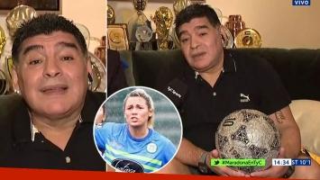 Diego Maradona confirmó su separación de Rocío Oliva: