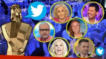 Así vivieron los famosos la entrega de los Martín Fierro 2017 en Twitter