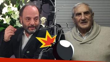 ¡Escándalo! Baby Etchecopar discutió en vivo con Luis Pedro Toni en radio 10... y lo echó del estudio