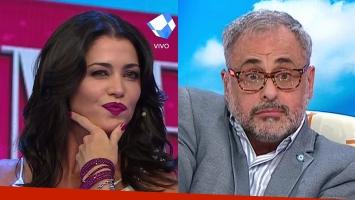 Pamela David y Jorge Rial