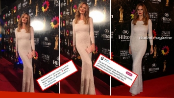 Paula Chaves respondió a las críticas por su vestido en los Martín Fierro. (Foto: Ciudad e Instagram)