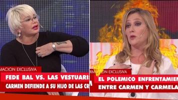 La grave acusación de Carmela Bárbaro y  a Carmen Barbieri