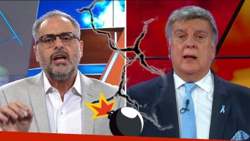 La dura respuesta de Jorge Rial al desafío de Luis Ventura. Foto: TV