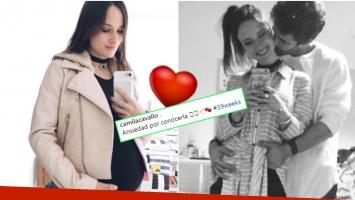 La foto súper tierna de Camila Cavallo, embarazada de 39 semanas (Fotos: Instagram)