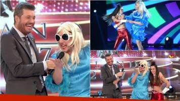 La divertida previa de Jey Mammón como Estelita en Bailando 2017. Foto: Captura/ Ideas del Sur