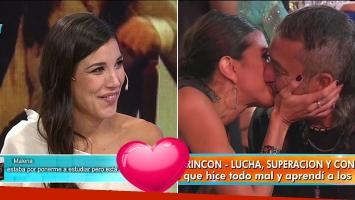 Andrea Rincón habló de su romance con el Mono de Kapanga