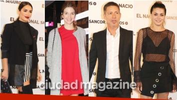 Todos los looks de los famosos en la gran reinauguración del teatro El Nacional (Fotos: Movilpress)