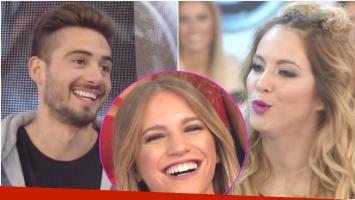 Flor Vigna mandó al frente a su novio en en ShowMatch y contó con qué bailarina tuvo una cita (Fotos: Captura)
