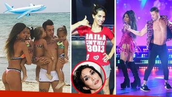 Cinthia Fernández se quedó con las ganas de bailar con Mimi y Maxi D´iorio