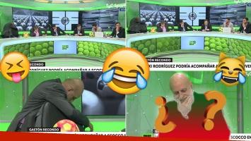El blooper en vivo de Pagani y el cantito de sus compañeros