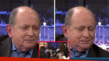 Chiche Gelblung se confesó y lloró ante Pampita. (Foto: captura TV)