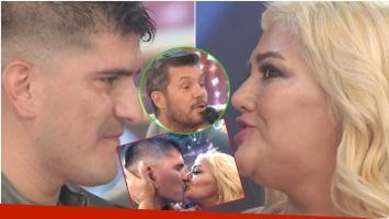 El pedido del novio de Gladys La Bomba Tucumana a Marcelo Tinelli en Bailando 2017 (Fotos: Captura)