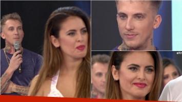 El tenso momento de Silvina Luna y El Polaco cuando Tinelli les preguntó por su casamiento: