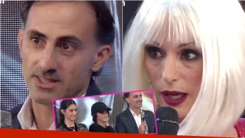 Diego Latorre fue a ShowMatch a darle su apoyo a Yanina Latorre: