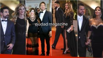 Los famosos en la alfombra roja del casamiento de Lionel Messi y Antonella Roccuzzo. Foto: AFP/ Twitter