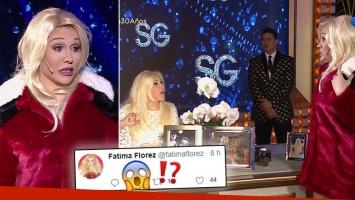 ¡Qué boquita! Fuerte insulto en vivo en el programa de Susana ¿para Fátima Florez?: la reacción de la humorista en Twitter
