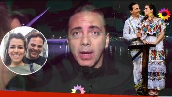 Cristian Castro confirmó su separación de Carol Victoria Urbán, ¡tras sólo 28 días casados!: