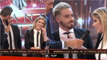Laurita Fernández contó en ShowMatch qué hace Fede Bal para conquistarla. Foto: Captura