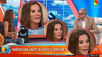Natacha Jaitt, en Intrusos: todo sobre el escándalo con Diego Latorre