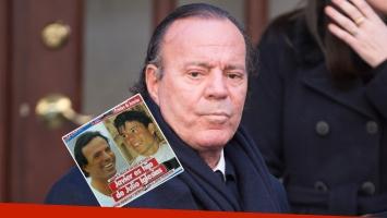 Julio Iglesias, ¿padre de un hijo extramatrimonial de 40 años? Foto: AFP y Twitter.