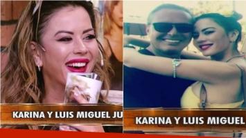 Mirá qué dijo Karina Jelinek en La Jaula de la Moda sobre su foto con Luis Miguel