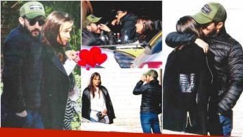 Nicolás Francella, de paseo con su novia Candela Yanigro por las callecitas de Buenos Aires (Fotos: revista Paparazzi)