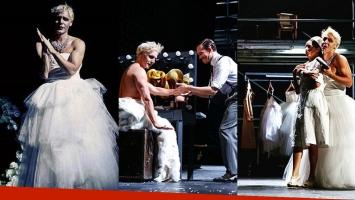 La transformación de Benjamín Vicuña para interpretar a Eva Perón (Foto: Instagram)