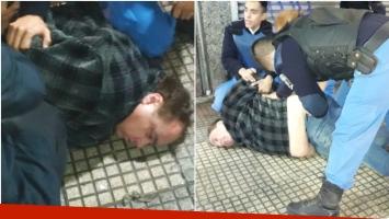 Detuvieron a la Tota Santillán por un intento de robo en un local (Fotos: Twitter)