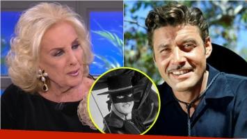 Mirtha Legrand recordó la muerte del protagonista de El Zorro: