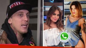 El Polaco justificó sus chats con Valeria Aquino en plena crisis con Silvina Luna