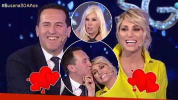 Vicky Xipolitakis presentó a su nuevo novio, Javier Naselli, ante Susana Giménez
