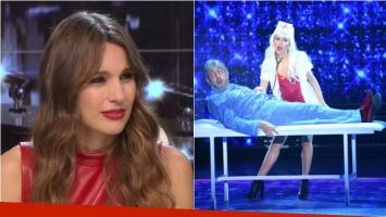 Pampita destrozó el baile de Huevo Müller y su novia en ShowMatch: