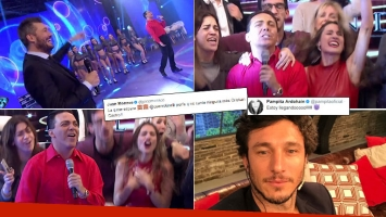 Pampita, fanatizada con Cristian Castro en ShowMatch