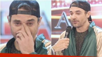 La emoción de Pedro Alfonso al anunciar su despedida en Bailando 2017 (Fotos: Captura)