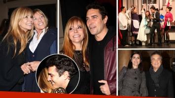Graciela Alfano se encontró con Matías Alé en el estreno de Entretelones y su exsuegra la elogió: